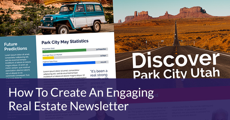 How To Create An Engaging Real Estate Newsletter Template Jigglar - How to make a newsletter template