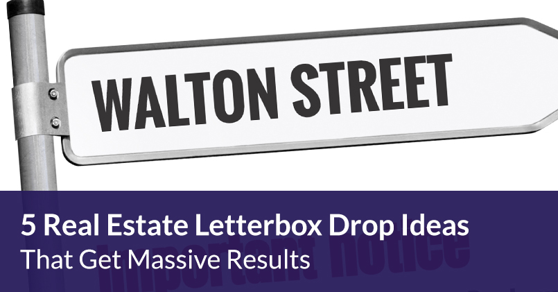 Real Estate Letterbox Drop Ideas & Templates