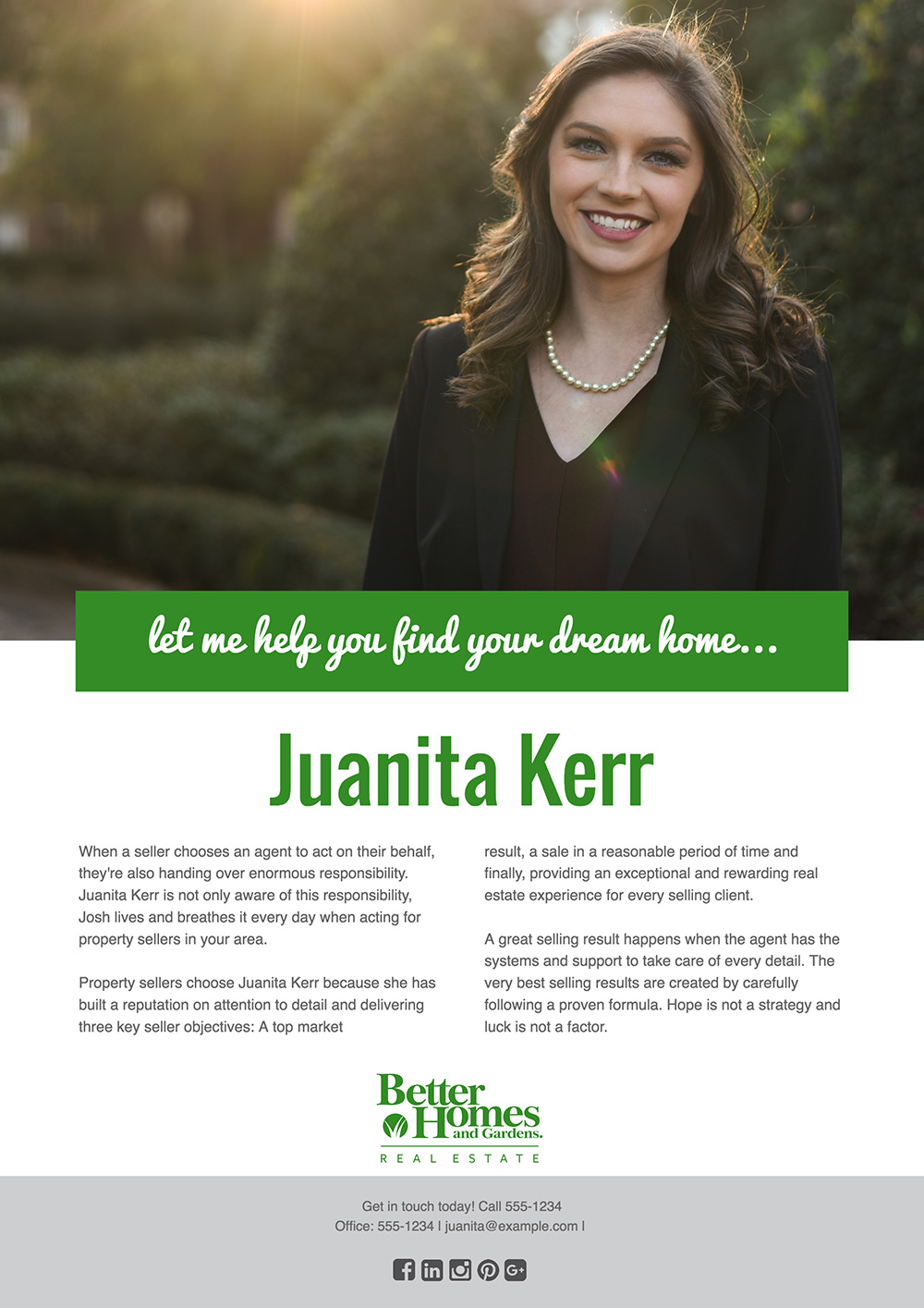 Real Estate Agent Flyer Template 1