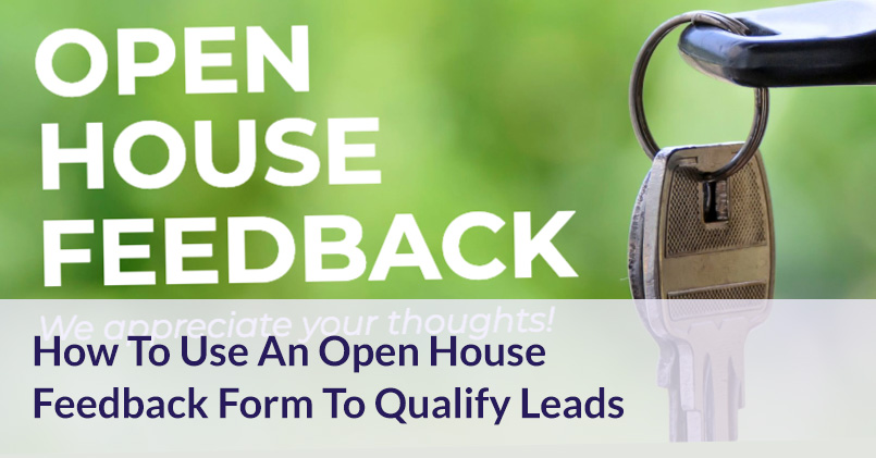 Open house feedback form