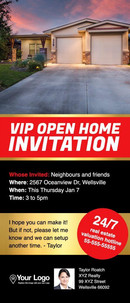 Open house DL flyer