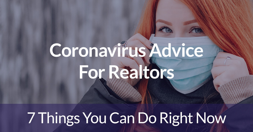 Coronavirus Advice For Realtors