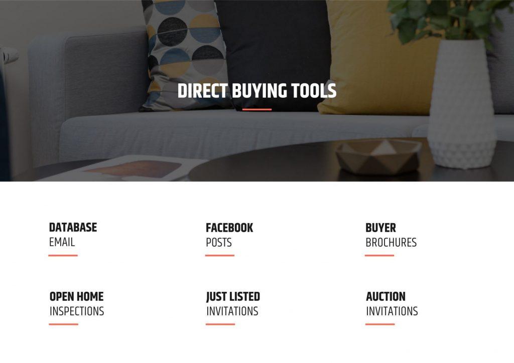 Listing presentation sample template - marketing plan page 3.