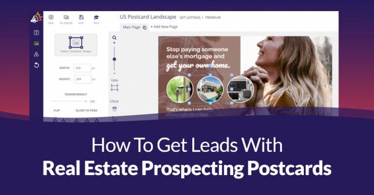 Real Estate Prospecting Postcards