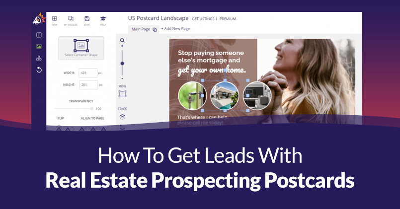 Real Estate Prospecting Postcards