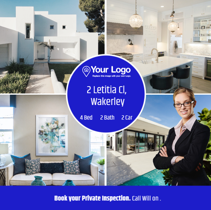 Real estate ad templates