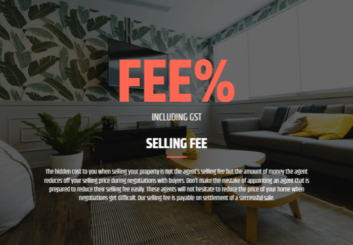 An overview of your fee structure