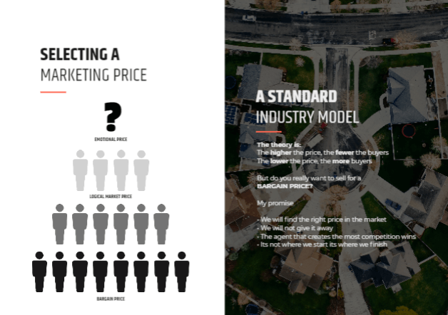Selecting a marketing price