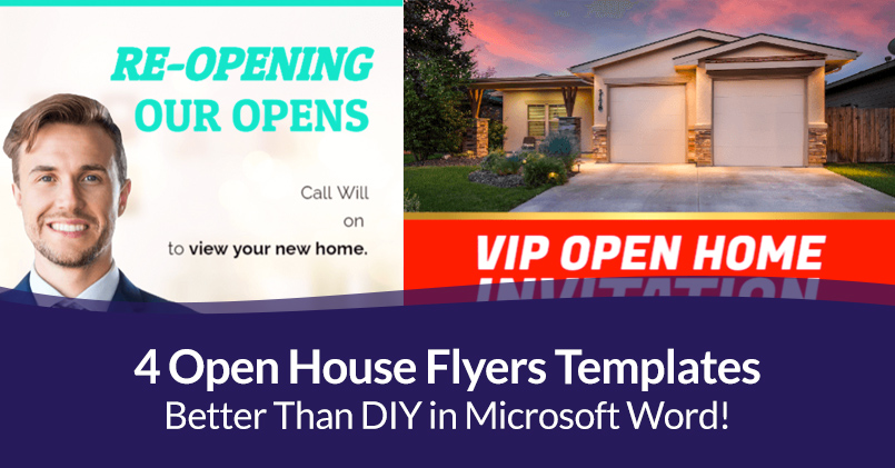 Open House Flyers Template Word