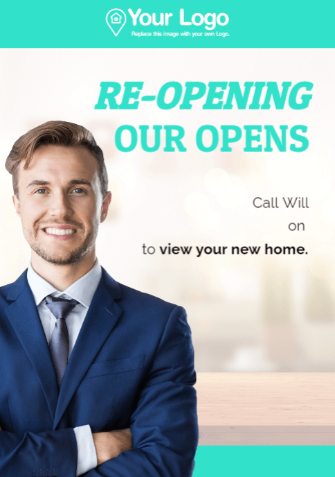 Re-opening open home events.