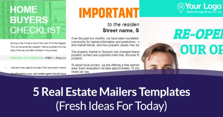 Real Estate Mailers Templates