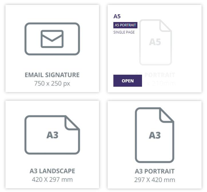 Choosing a page size to use for your real estate agent flyer design