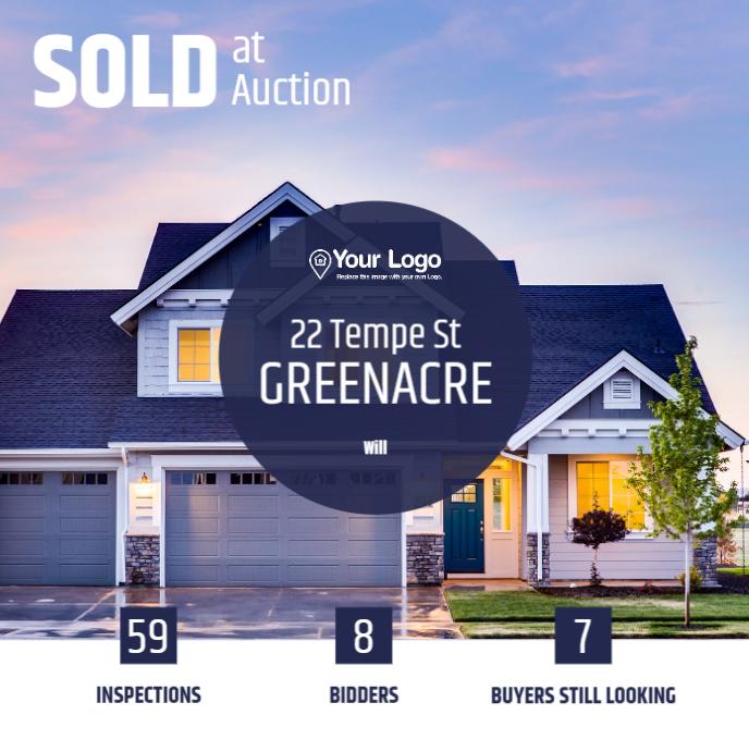 Details about a home auction