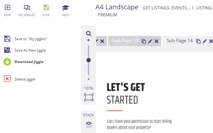 Downloading your real estate listing presentation