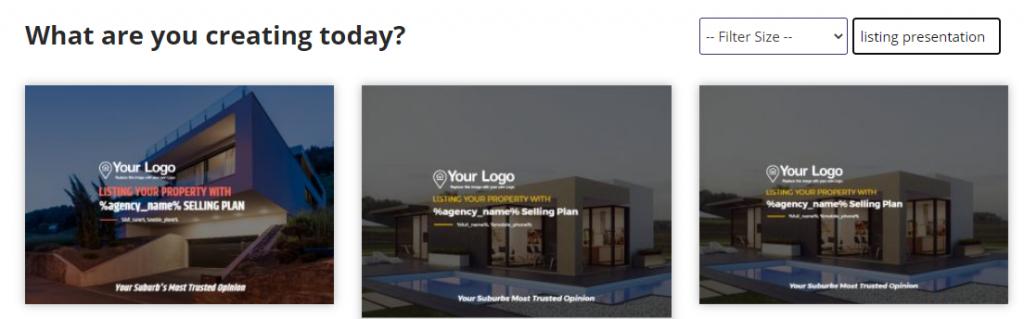 Real estate listing presentation PDF
