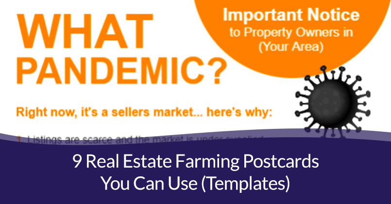 9 Real Estate Farming Postcards You Can Use (Templates)