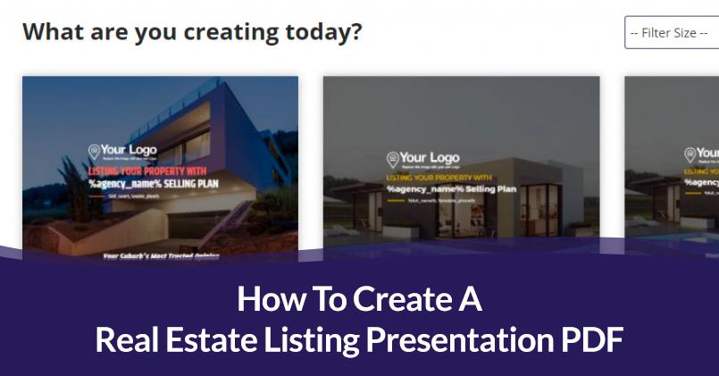 How To Create A Real Estate Listing Presentation PDF