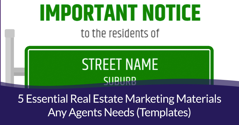 Real Estate Marketing Materials