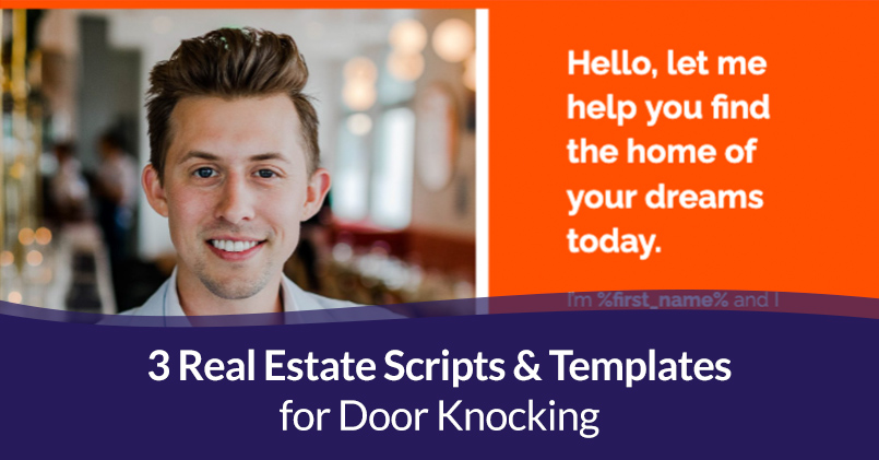 Read more about the article 3 Real Estate Scripts & Templates for Door Knocking