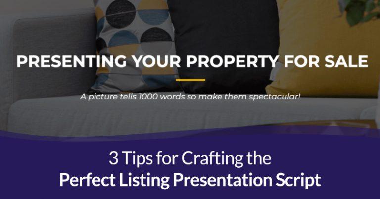 perfect listing presentation script