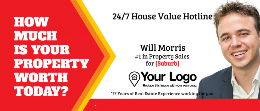 A flyer that offers free home valuations