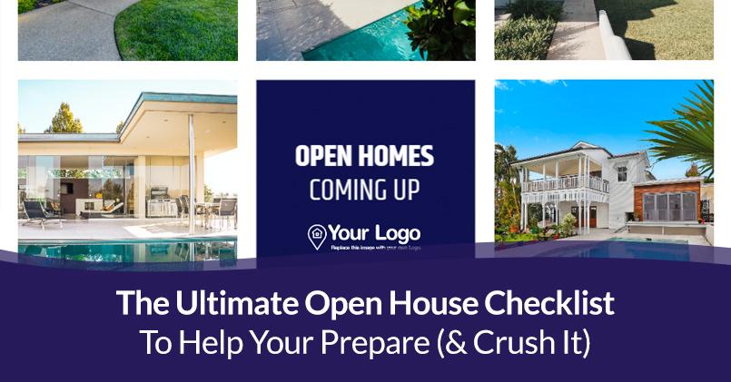 Preparing Open House Checklist