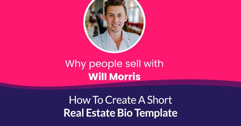 Short Real Estate Bio Template