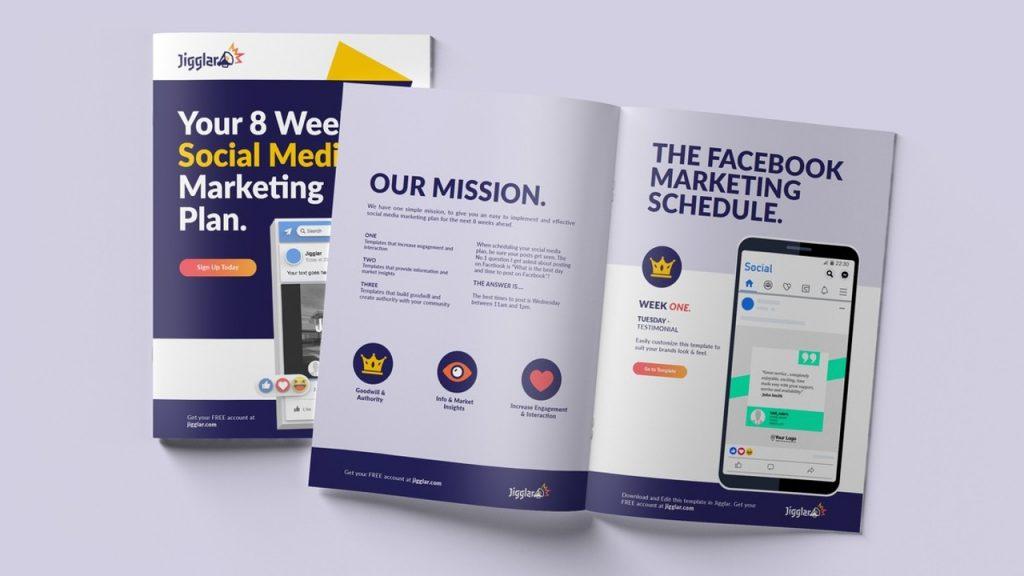8 Week Social Media Marketing Plan