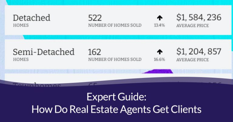 how do real estate agents get clients