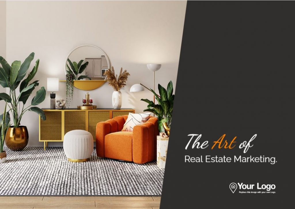 The cover of our ipad pre listing presentation template for real estate agents.